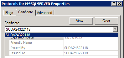 Certutil the sql dude both of them have the same properties and satisfied all the 5 certificate requirements you can see the certificate if you open up mmc and add the snap in yadclub Image collections