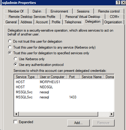 How To: SQL Server Bulk Insert with Constrained Delegation