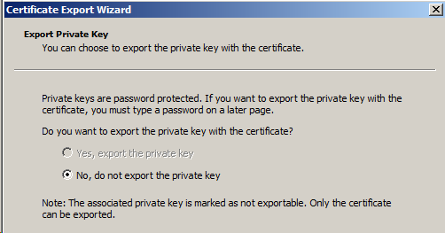 Setting up SSL encryption for SQL Server using certificates
